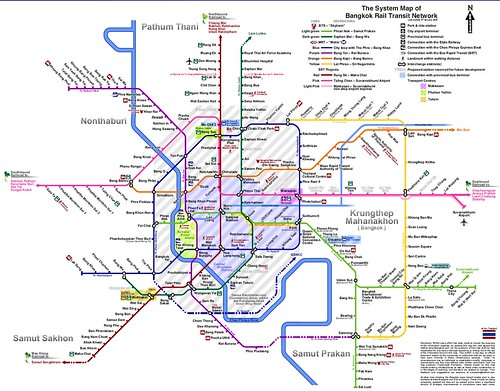 BKK Subway maps