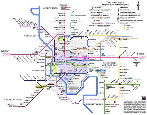 BKK Subway maps