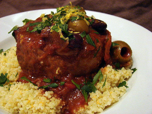 lamb stew with lemons and olives