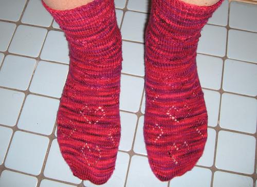 Heart Lace Socks 1
