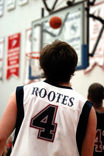 Rootes watches a three