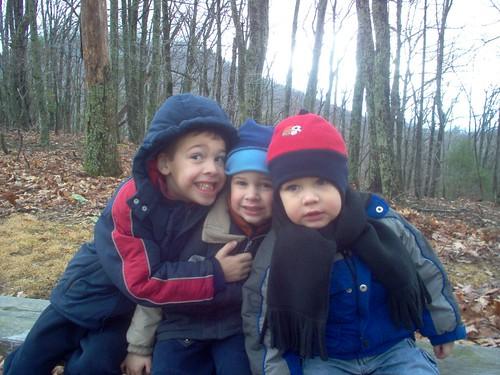 boys Peaks of Otter