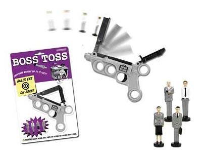 Boss Toss - und Dein Boss Fliegt