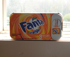 Fanta 8 oz Can 8 Pack (Wal Mart Exclusive?)