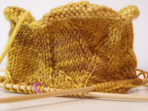 Golden Dragon Sock