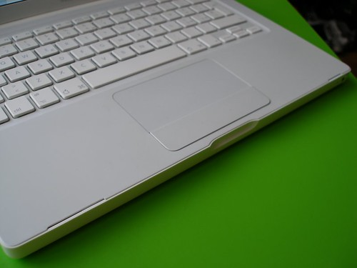 Broken Macbook chassis