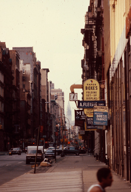 East Village (?), New York, July 1980.