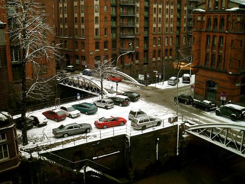 Snow at agency.