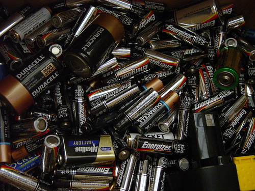 recycle your batteries