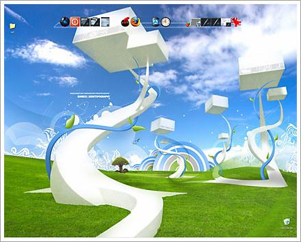 surreal desktop