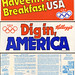 Kellogg's Olympic bumper stickers - 1984