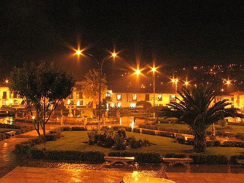 Plaza de armas de Chachapoyas