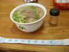 Knife curved noodle with beaf 牛肉刀削麺