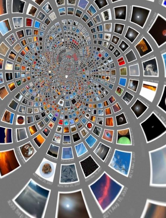 Mobius transform of 1152 pictures