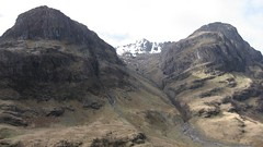 view across glen coe from the top