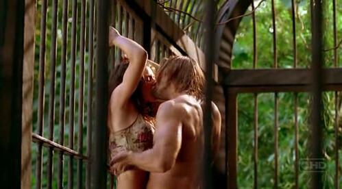 Sawyer y Kate practicando sexo