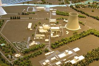 "Nuclear power plant ""Kernkraftwerk Emslan..."