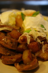 Andouille-Green Chili Hash 2