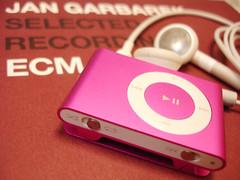 My pink iPod shuffle