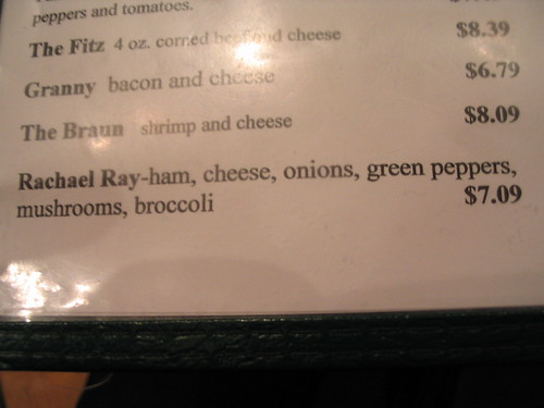 The special at Tommy's