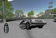 Sitting while wearing Altima in Second Life