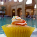 Cupcake at the pool