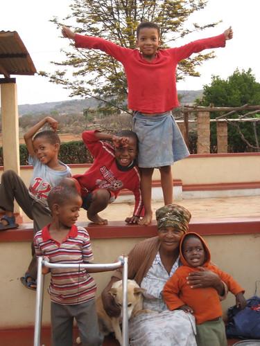 Gogo & the kids