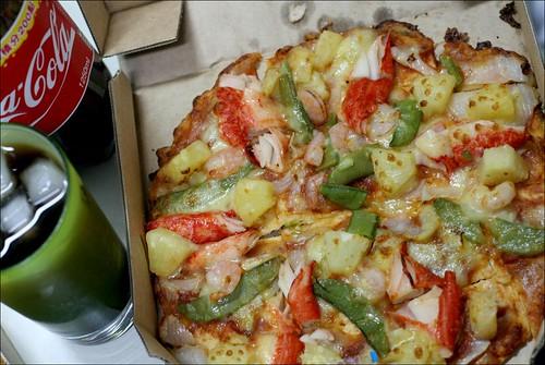 domino's pizza and coca-cola