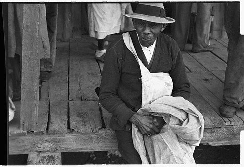 No Known Restrictions: Cotton Picker in Arkansas by Ben Shahn, 1935