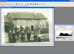 Fotostation - justeringer og beskjæring