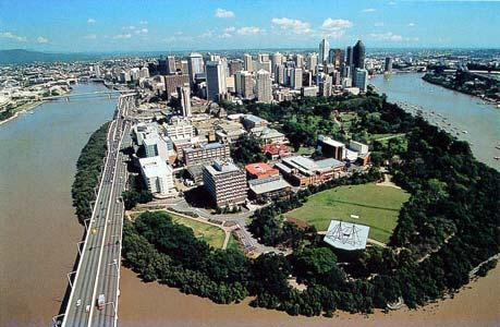 Brisbane by day