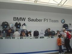 26.BMW Sauber的專櫃