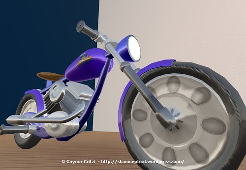 Lowrider Motorcycle 001