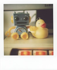 Robot and Duckie