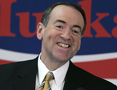Huckabee, by candid