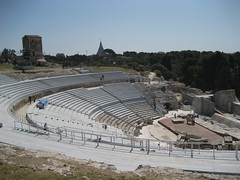 Ancient Greek Theater at Siracusa - 3