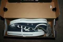Navy Converse - New by irisheyz_5