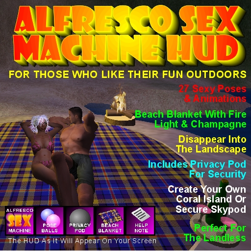 Alfresco Sex Machine Packshot