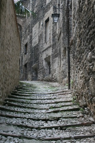 A beautiful stradina in Spoleto