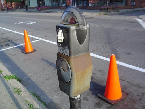 Parking space, Keene, NH