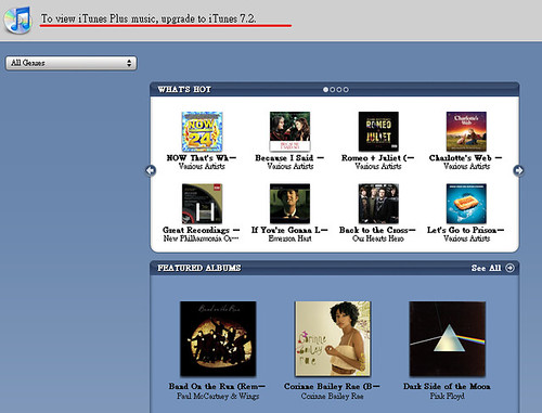 現在利用iTunes Store買音樂,不只能傳到iPod上囉~iTunes Plus介紹 - Mobile01