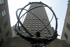 NYC - Rockefeller Center: Atlas & GE Building