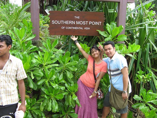 Southern Most point of Asia