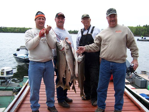 Jim, Tom, Bill & Steve with lake trout.jpg