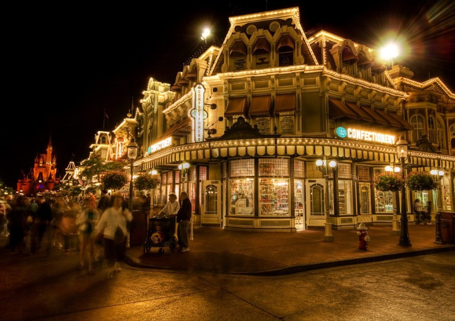 The Confectionary at the Magic Kingdom