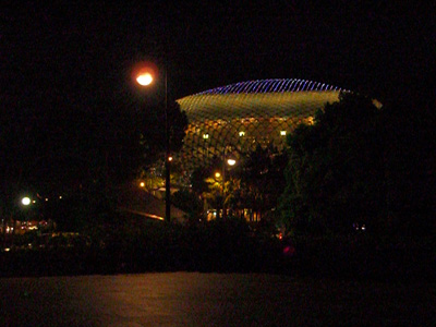 The Esplanade, from afar