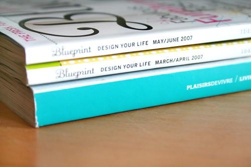 Blueprint & Plaisirs de vivre Magazines