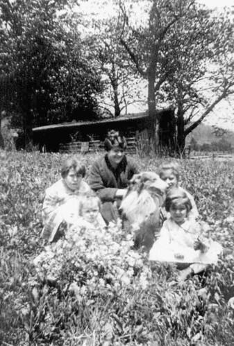 Lawn care circa 1919