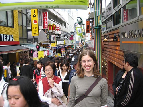 Side street, Harajuku