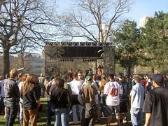 Band at Marijuana March